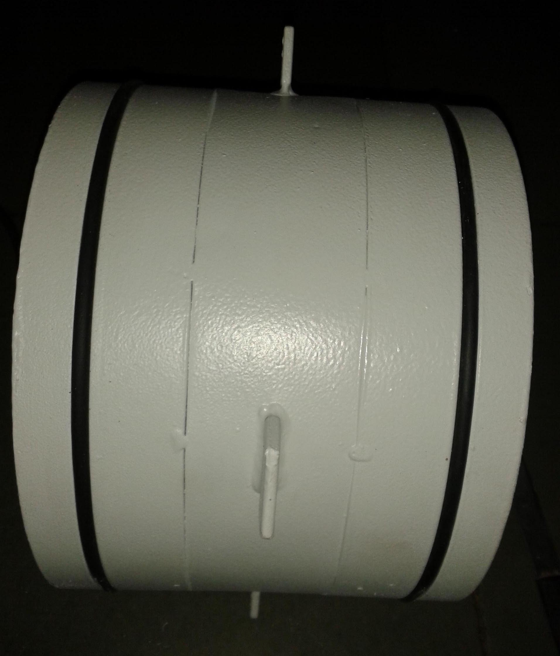 Pipe Sleeve with Plasite 7159 Coating
